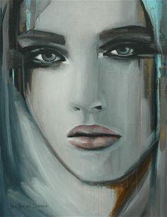 """Saatchi Online Artist Hesther Van Doornum; Painting, """"Timeless (sold)"""" #art"""