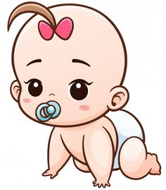 Cartoon baby learn to crawl Premium Vect... | Premium Vector #Freepik #vector #baby #character #cartoon #comic