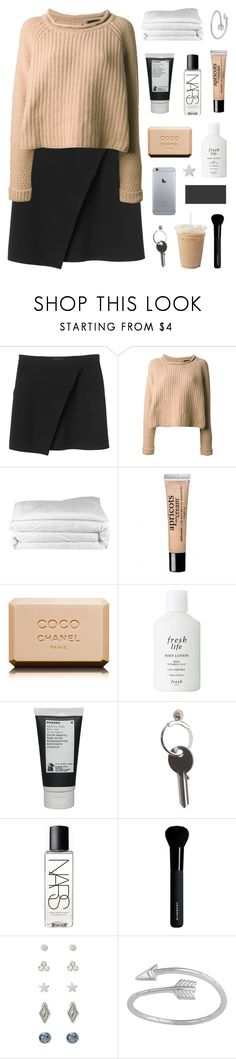"""""""you keep tearing me apart. ☆"""" by i-get-lost-sometimes ❤ liked on Polyvore featuring Monki, Jo No Fui, Frette, philosophy, Chanel, Fresh, Korres, Maison Margiela, NARS Cosmetics and Givenchy"""