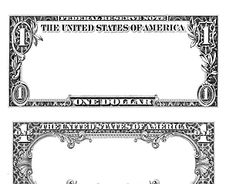 FREE Design a Dollar printable-- Start financial literacy early and have kids create a new image for the one dollar bill.