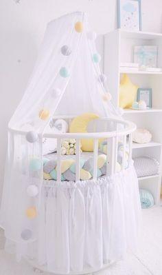 New Ideas Diy Baby Pillow Bed Tutorials Baby Nursery Diy, Baby Room Diy, Baby Bedroom, Baby Boy Rooms, Baby Room Decor, Nursery Room, Girl Nursery, Girl Room, Diy Baby