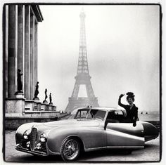 Vintage Fashion #paris #retro #cars