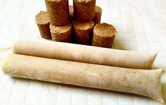 Pronto, a nossa receita que servirá de base para todos os sabores de sacolé (Dindin) Gourmet. Ice Candy, Banoffee Pie, Cookie Packaging, Aesthetic Food, Mole, Hot Dog Buns, Cornbread, Cravings, Cake Recipes