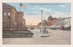 Chicago Heights postcard