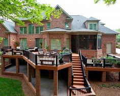 Brown home