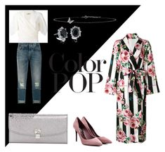 """""""color it up"""" by ilseok on Polyvore featuring Dolce&Gabbana, Lanvin, Lee Renee, Blue Nile and statementcoats"""