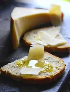 parmesan bread oil by Roger Stowell