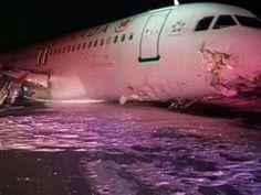 Stanley Roy informa: Accidente:  Avión de Air Canada derrapa y sale de ...