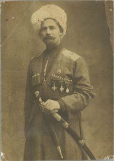 Казак 1 Кавказского полка Кубанского казачьего войска