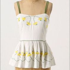 I just discovered this while shopping on Poshmark: Girls From Savoy Radler Buttercup Peplum Top Sz 8. Check it out! Price: $30 Size: 8, listed by traceyish
