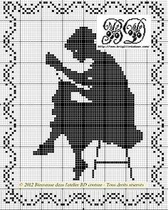 Borduurpatronen voor borduursters en naaisters - Fimo- en ander creatief gefröbel