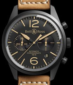 Bell & Ross the Vintage BR 126 watch.
