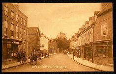 Broad Street, Newent, Gloucestershire, England. c1916