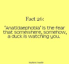 Never trust a duck. Especially cannibal ducks. You know who I am talking about of course