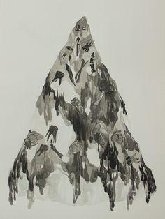 MARIGOLD SANTOS | mountain (pizza) | 2016 | Galerie D'Este