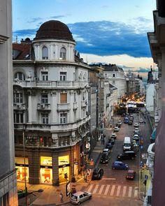 Dusk, Belgrade, Serbia