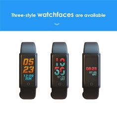 Fitness Tracker HR, Color Diplay Activity Tracker Smart Watch with Sleep Monitor, Sweatproof, Walking Pedometer Band with Call/SMS Remind for iOS/Android Smartphone Waterproof Fitness Tracker, Fitness Activity Tracker, Android Smartphone, Smart Watch, Display, Activities, Band, Color, Floor Space