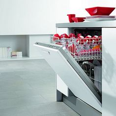 How to disinfect your dishwasher with vinegar #tip #cleaning