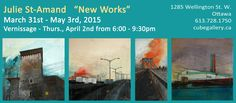 April 2nd, New Words, Ottawa, May, Exhibitions, Cube, Gallery, Roof Rack
