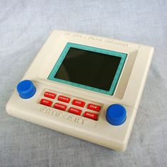 Vintage 1980s Etch a Sketch Animator by Ohio Art