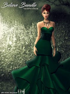 EB Magazine and model Dragonrosi would like to show this beautiful Believe Bundle by EBM sponsor and IMVU creator SarahNextDoor: http://www.imvu.com/shop/product.php?products_id=35877901