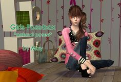 Maypink - Girls Posebox - Natural