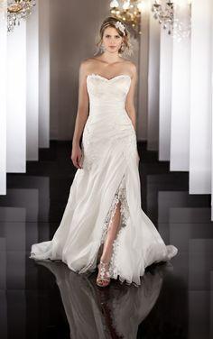 Organza Fit and Flare Wedding Gown. Organzové Svadobné ŠatySvadobné ... bcb8e24bbcb