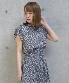 f9695b0d5b225  ZOZOTOWN w closet(ダブルクローゼット)のシャツ ブラウス「花柄