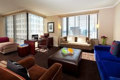 Suite at the W Seattle Hotel