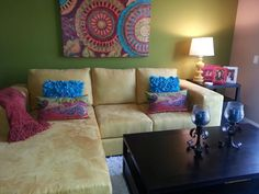 Sofa chaise makeover. Check out other sofa makeovers at The Sofa Company. www.thesofaco.com