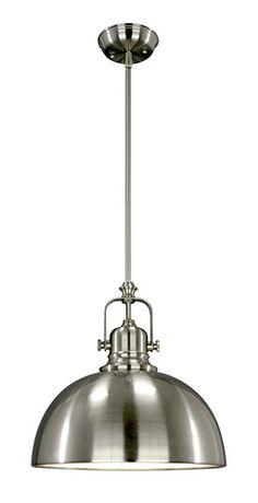 LAMPE SUSPENDUE POLO : Lampe suspendue Polo. Exige une ampoule de 100 watts de type A (non incluse).