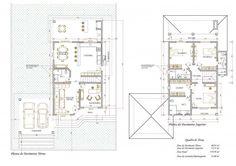 Plantas de sobrados até 150 m² para você se inspirar e imprimir   So Detalhe