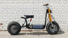 The Beast: A solar-powered e-bike built for off-road adventure