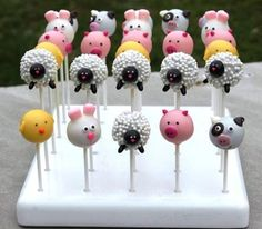 LOVEEEE my KC Bakes cake pop stand!!! It's pretty AND super sturdy..can't wait to get some more! - One A Pop A Time  -------> See more reviews at: http://www.kcbakes.com/reviews.html