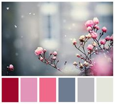 Color Palette (I would use in my bedroom/master bath)