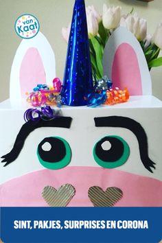 Maak juist dit jaar de periode naar Sinterklaas en pakjesavond extra leuk voor je kinderen (en jezelf). Het is voor de kids zo ongeveer het enige leuke ding waarvan ze zeker weten dat het doorgaat! Hoe je dan kan doen, lees je in mijn blog. Birthday Cake, Desserts, Blog, Corona, Period, Tailgate Desserts, Deserts, Birthday Cakes, Postres