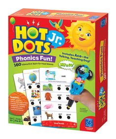 Phonics Fun Hot Dots Jr. Cards Set