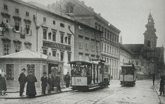 Die Linzer Tramway. Mehr dazu hier: http://www.nachrichten.at/nachrichten/150jahre/tagespost/Urzeit-der-Linzer-Tramway;art171761,1688323 (Bild: Lentia Verlag)