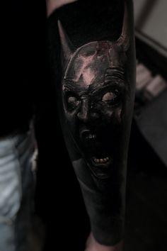Dark batman tattoo