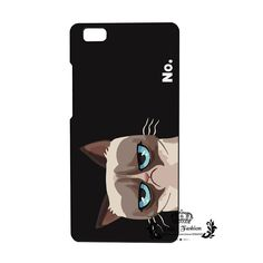 €1 - P F For Huawei P8 P8 Lite Case Grumpy Cat Hard PC Cover For Funda Huawei P8 Lite Case 2016 New Arrival Coque For Huawei P8 Lite