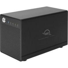 "0.0TB OWC ThunderBay 4 mini 4Bay RAID External 2.5"" Hard Drive Enclosure - Thunderbolt 2, TB4-MJB-0GB"