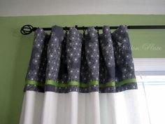 DIY Curtains: DIY Curtains Topper