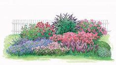 gestaltungstipps f r kleine staudenbeete gardens garten. Black Bedroom Furniture Sets. Home Design Ideas