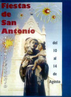 Fiestas de San Antonio en Carrascosa de Haro (Cuenca). Del 10 al 14 de agosto del 2000. #Fiestaspopulares #CarrascosadeHaro #Cuenca