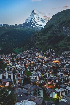zermatt, switzerland + matterhorn | travel photography #villages