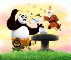 Kung Fu Panda by Karuma