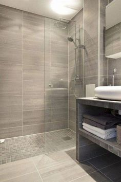 80 Contemporary Bathroom Shower Design Ideas - Page 18 of 85 Shower Stall, Shower Tile, Bathtub, Small Bathroom, Modern Bathroom, Bathrooms Remodel, Bathroom Design Small, Tile Bathroom, New Toilet