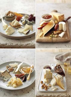 Holiday Cheese Plate, 4 Ways