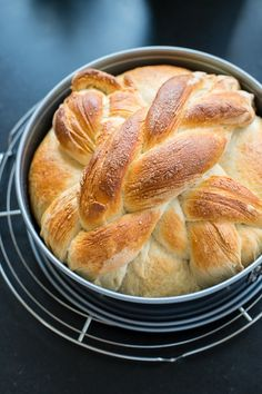 Homemade Paska is a traditional Slovak or Eastern European Easter bread sweetened with sugar and eggs for a rich, celebratory loaf. A favorite childhood tradition! Slovak Recipes, Bread Recipes, Armenian Recipes, Ukrainian Recipes, Hungarian Recipes, Cake Recipes, Easter Recipes, Holiday Recipes, Eastern European Recipes