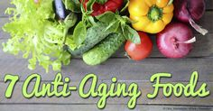 Discover the 7 superfoods that help slow down aging and keep you looking and feeling young much longer. https://articles.mercola.com/sites/articles/archive/2010/02/27/top-7-foods-that-slow-your-aging.aspx